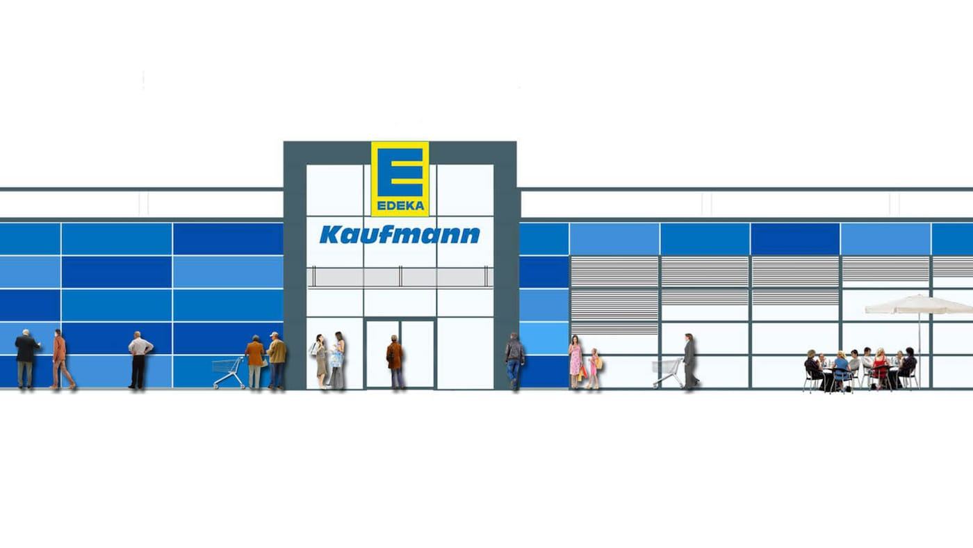 Edeka Regionen Karte.Expansion In Nordbayer Sachsen Und Thuringen