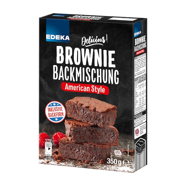 EDEKA Brownie Backmischung