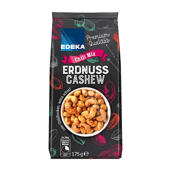 EDEKA Erdnuss Cashew Mix Chilli